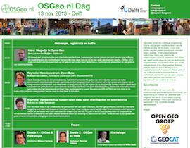 mini poster OSGeo.nl Dag 2013